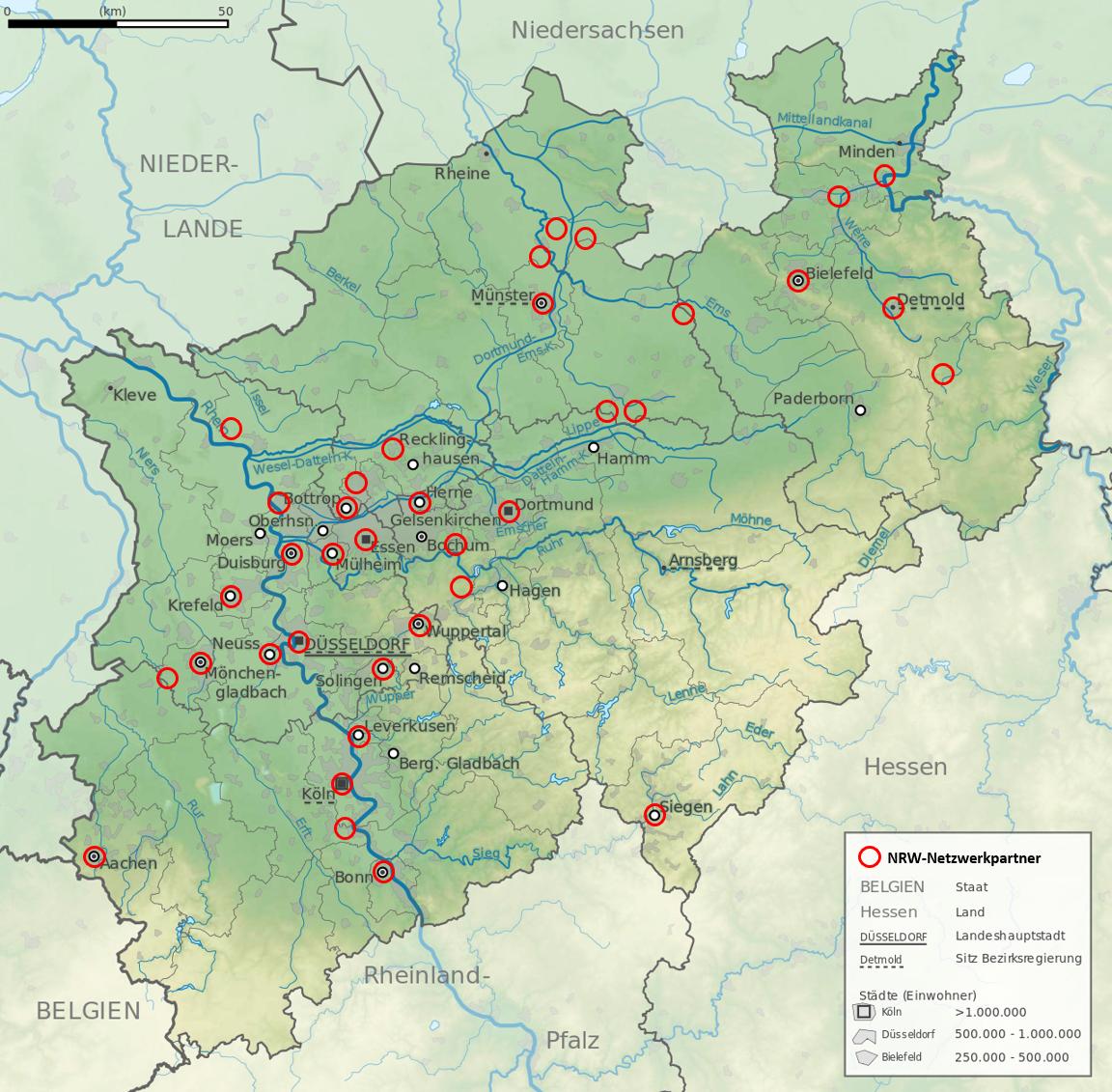 NRW-Karte 2019-2020